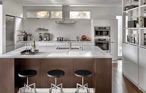 Wilmette Gregory Street Residence: kitchen