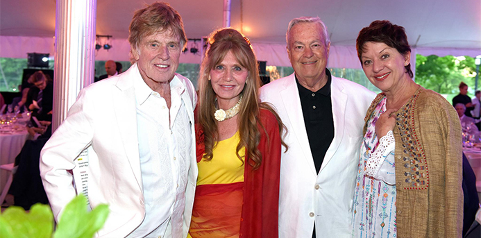 Better Makers: Actor Robert Redford and Artist Sibylle Szaggars Redford Honored at Smith Nature Symposium & Benefit