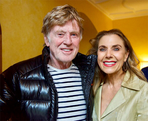 Robert Redford and Sibylle Szaggars Redford Better Makers: A. Gail Sturm
