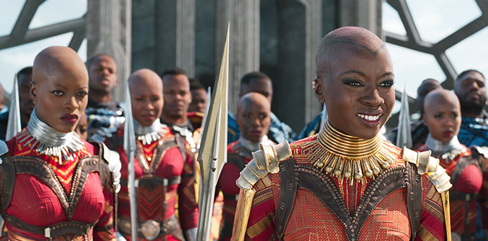 'Black Panther' Star Danai Gurira Talks Growing Up in Zimbabwe, Finding Her Passion, and the Drive to 'Do More'