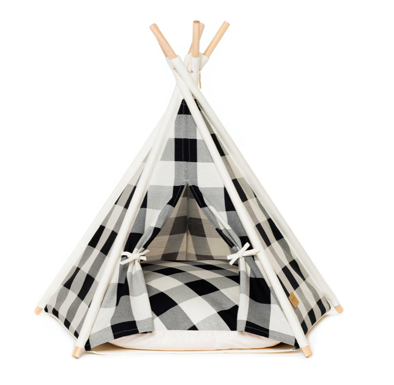 Dog Products: Huts and Bay Pet Teepee Tent