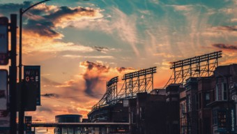 Wrigley Field by Max Bender