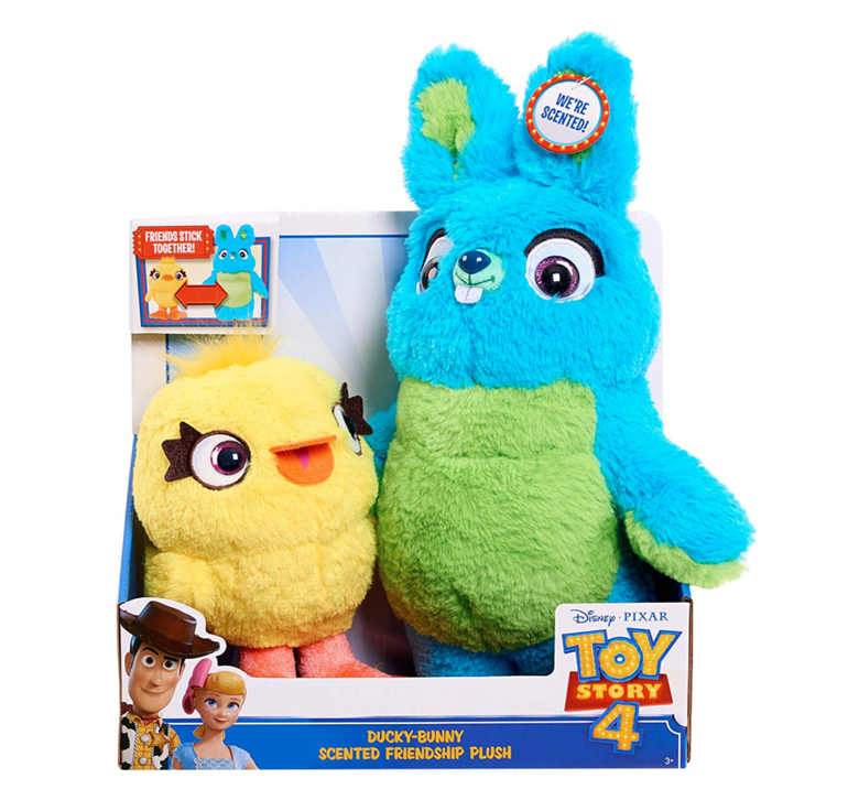 Toy Story 4: Ducky and Bunny Scented Friendship Plush