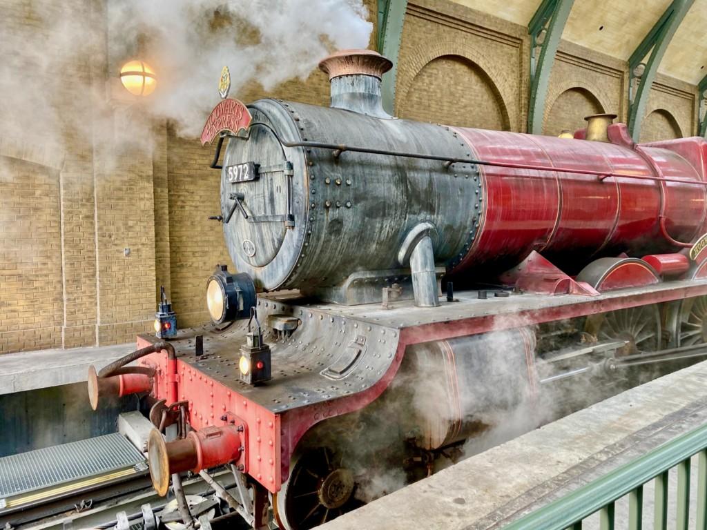 Hogwarts Express Universal Orlando photo by Brooke Geiger McDonald
